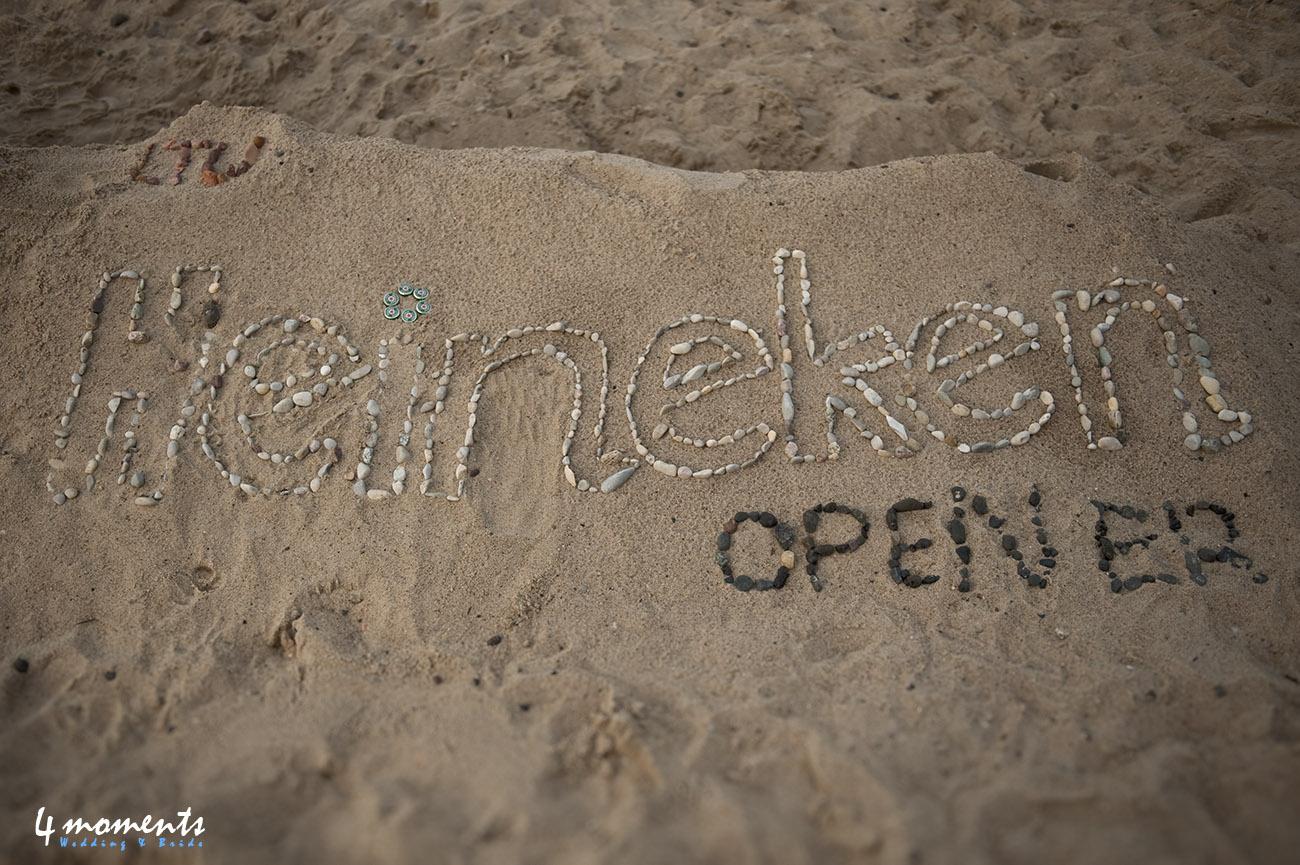 Heineken open'er plener ślubny na plaży w Gdyni zapowiedź.