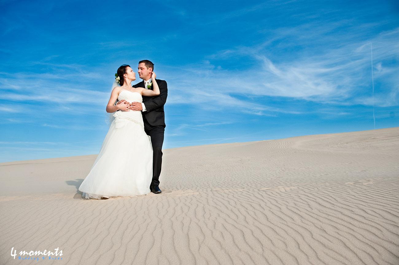 Ruchome piaski na plenerze ślubnym w Łebie – zapowiedź.