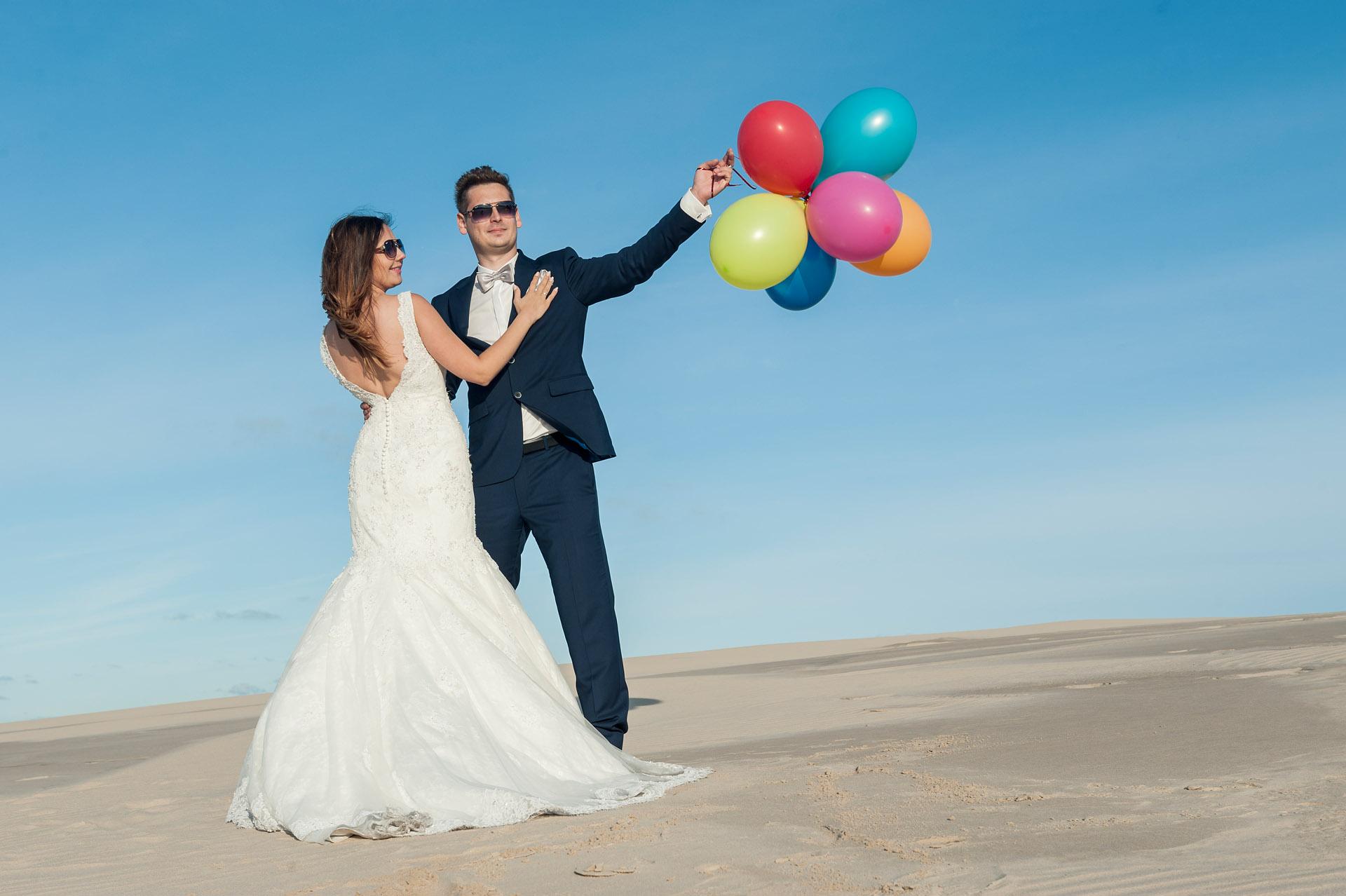 Plener ślubny nad morzem | Łeba | zapowiedź