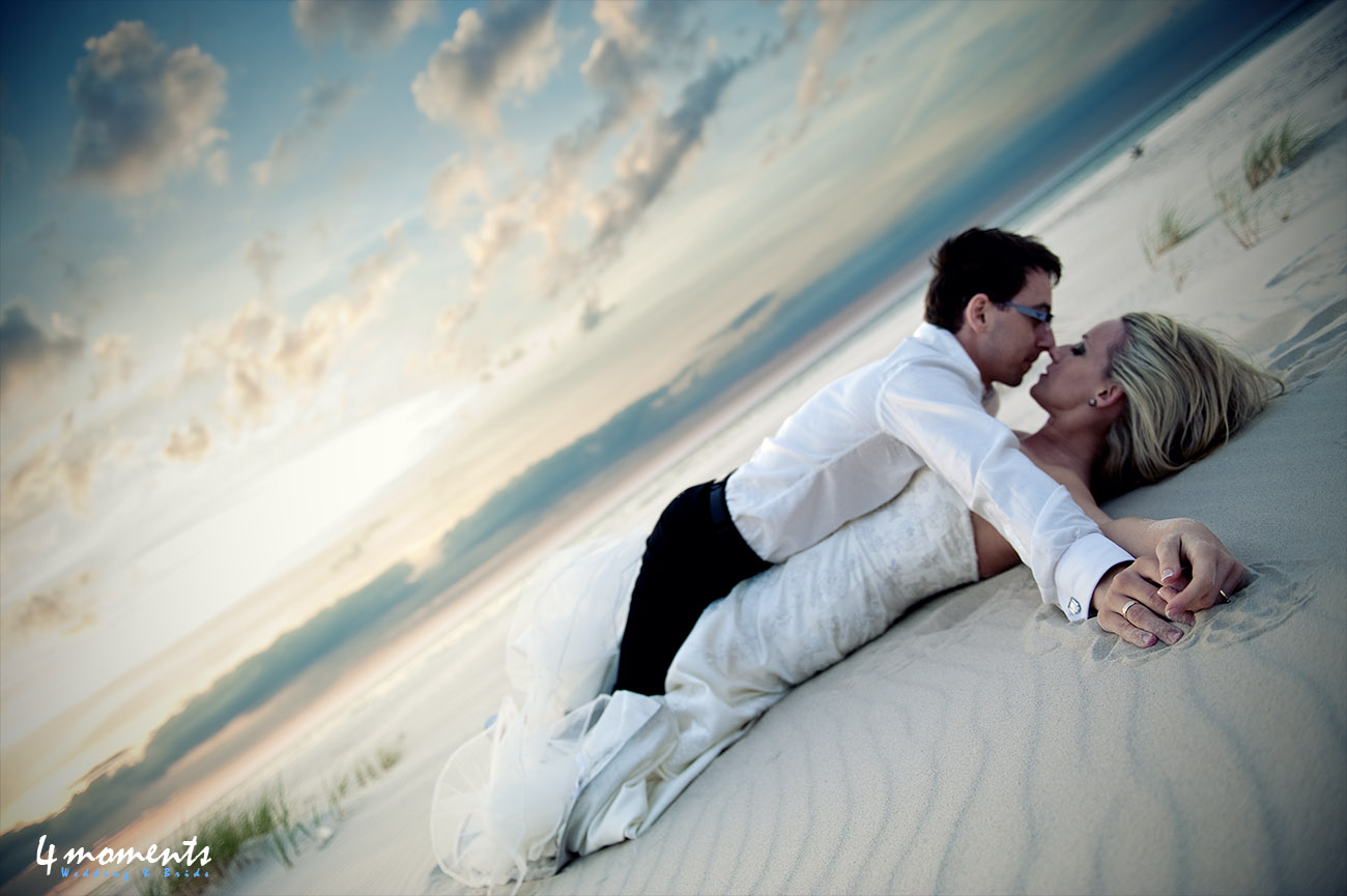 5 miejsc na wymarzoną ślubną sesję plenerową | Miejsce 5 na wydmach w Łebie