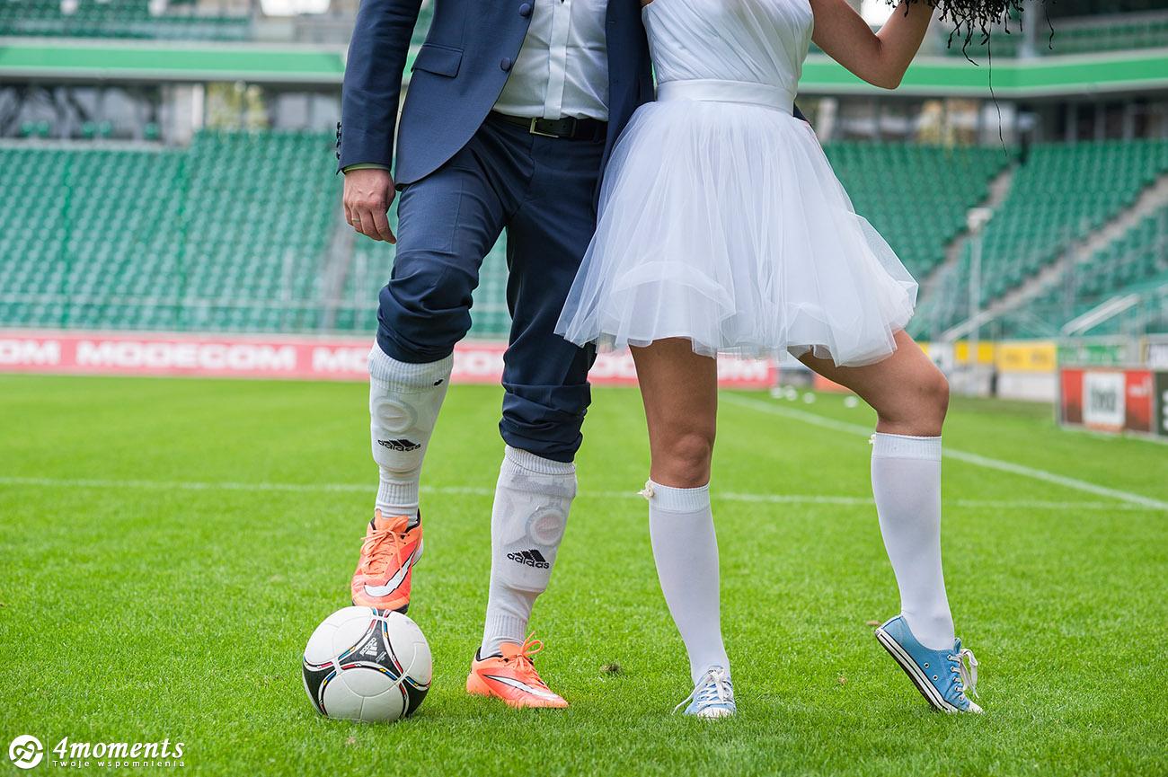Kibicujemy naszym na Euro2016 | Plener ślubny na stadionie